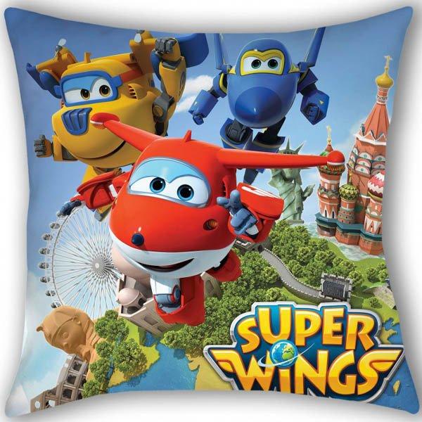 Zierkissen Super Wings Swi0501 40x40 Cm